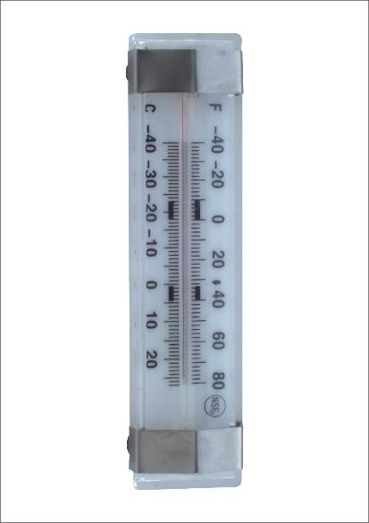 Thermometer Kitchen Room Temperature Glass Small Fridge Thermometer