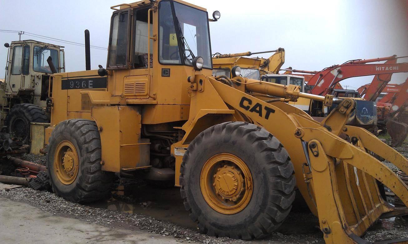 936e Used caterpillar wheel loader for sale