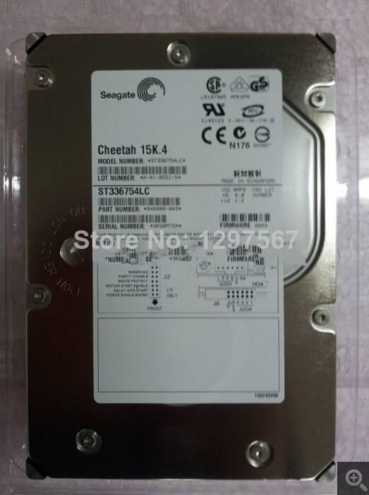 Original ST336754LC 36G 15K4/80 /U320 SCSI