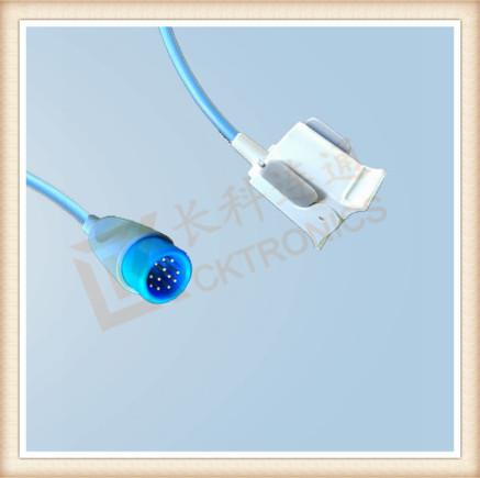 BRUKER 12 Pin Pediatric Finger Clip SpO2 Sensor