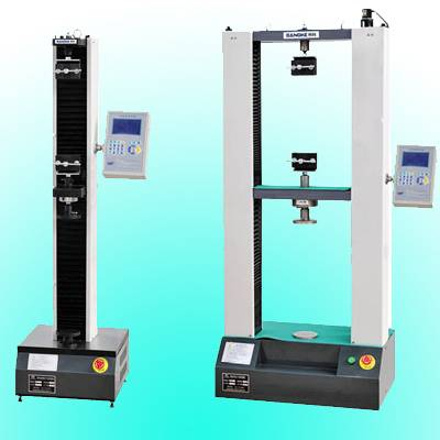 universal tensile testing machine 1KN 2KN 5KN digital display for rubber,plastic,woven bag,etc