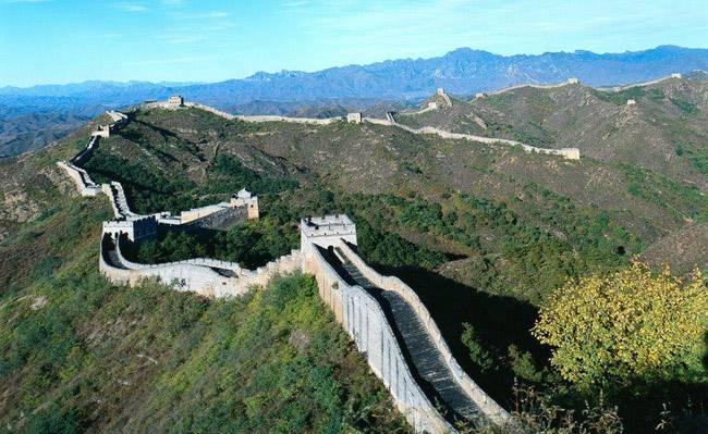 Great wall at Badaling section
