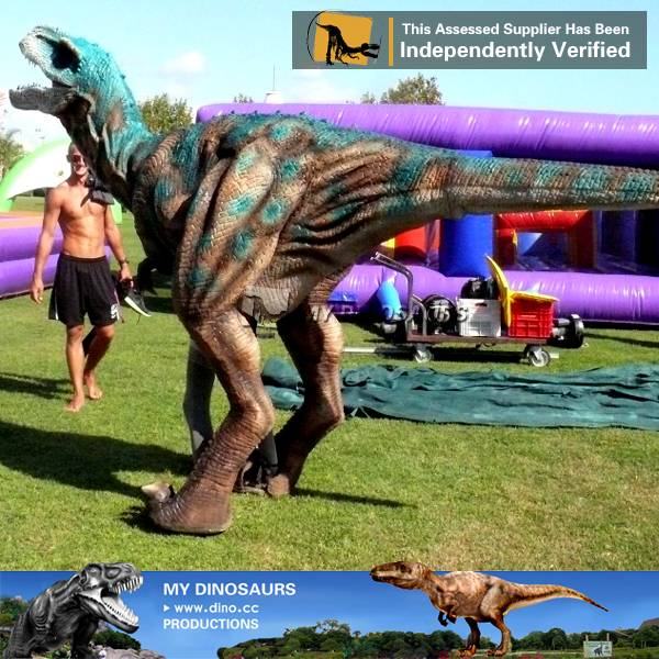 Life size adult dinosaur costume