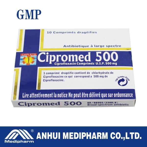 ciprofloxacine tablets