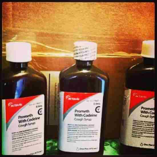 cough syrup prometh drank actavis