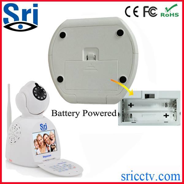 Sricam SP003 battery powered video call video phone camera