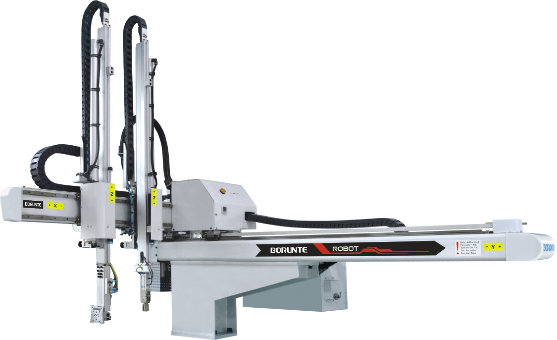 Five-axis AC Servo robotic arm for injection moulding machinery