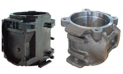 casting aluminum alloy axle box used for high speed train