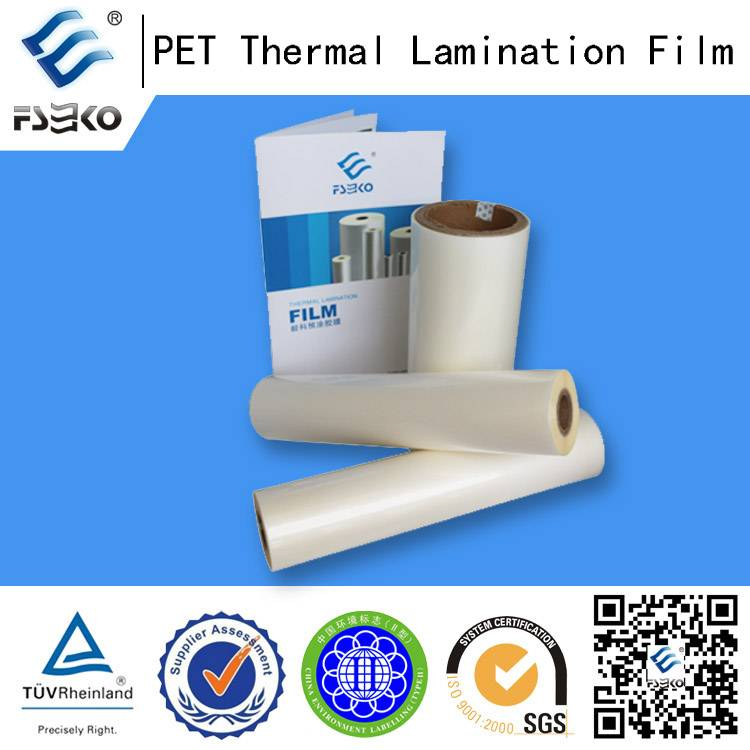 Wholesale Pet Laminating Roll Film for Business License (32-250MIC)