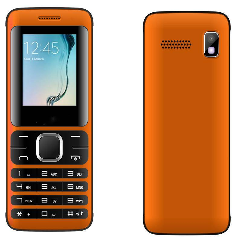 K102 1.8 inch 2G/3G mobile feature phone dual sim cards GSM/WCDMA