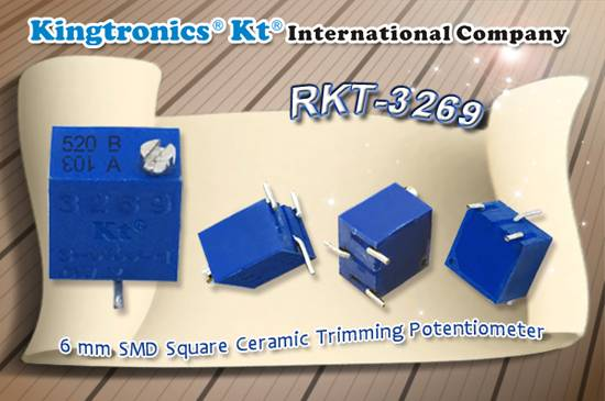 Kt Kingtronics 3269 Series Sealed Trimming Potentiometers