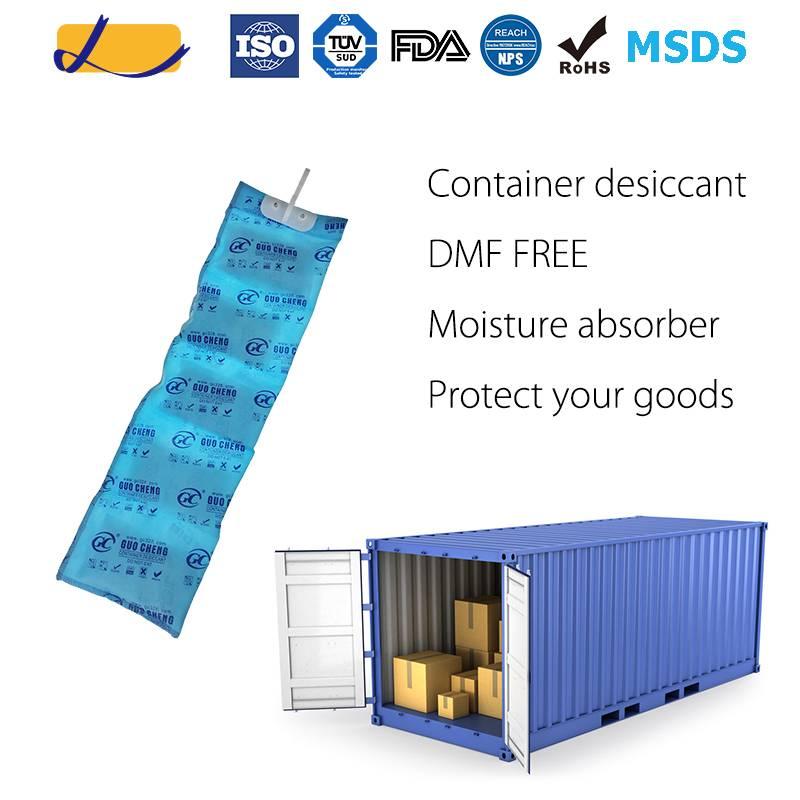 Hanging moisture absrobent silica gel desiccant for Container