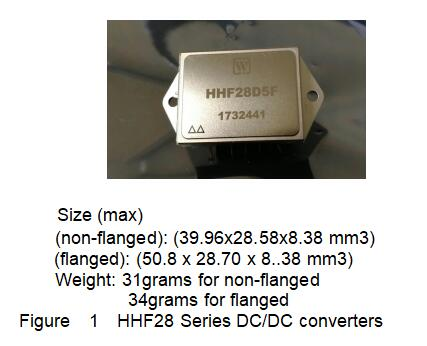 HHF28 Series High Reliability DC/DC Converters