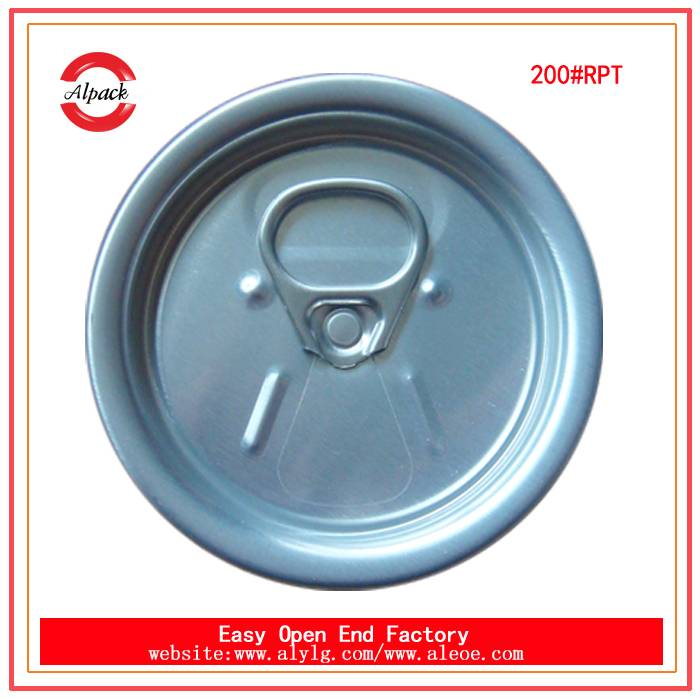 High quality 200# RPT 50mm beverage end partial open easy open end supplier