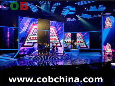 led display advertising P7.62 SMD fashion screen show magic stage rental slim led display