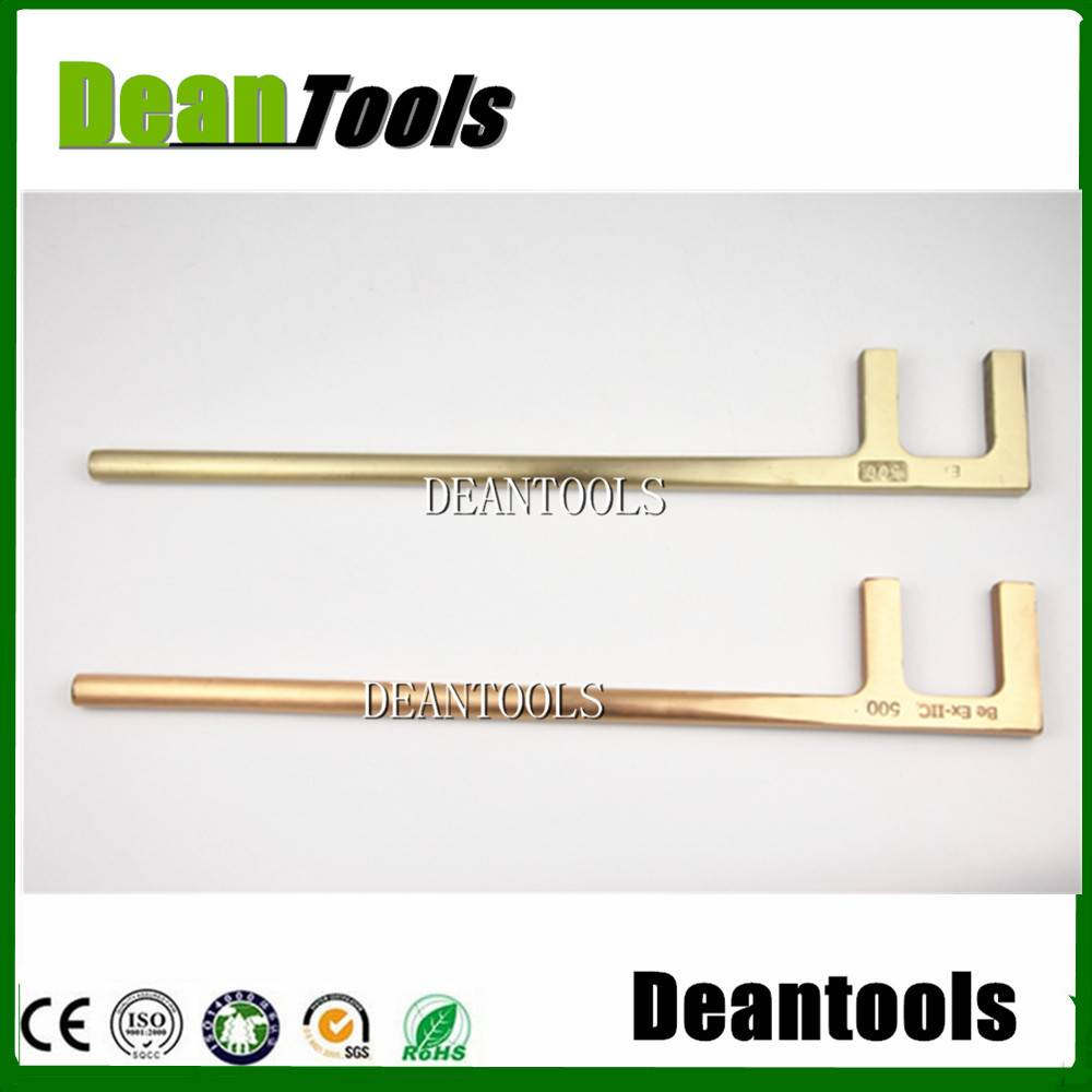 non sparking F TYPE WRENCH ,VALVE SPANNER
