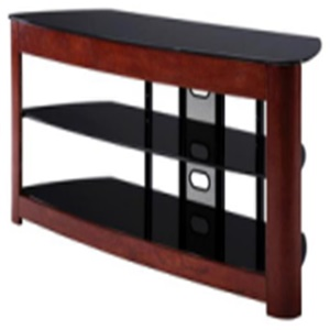 silk-screen tempered metal with MDF tv stand