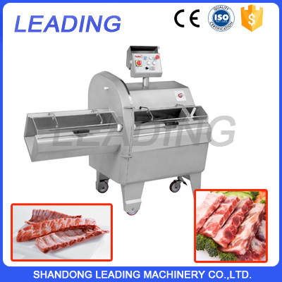 Industrial meat and fish cutter