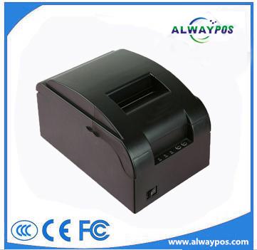 Cheap 76mm&3 Inch paper width 9 pin serial Impact Dot-matrix printer