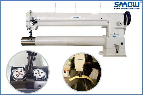 industrial double needle long-arm sewing machine
