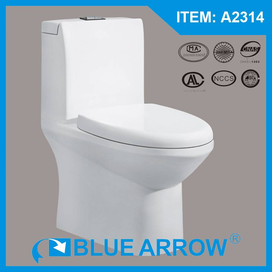 Competitive Sanitary Ware Supplier From China Manufacturer Ceramic Bathroom Toilet A2314