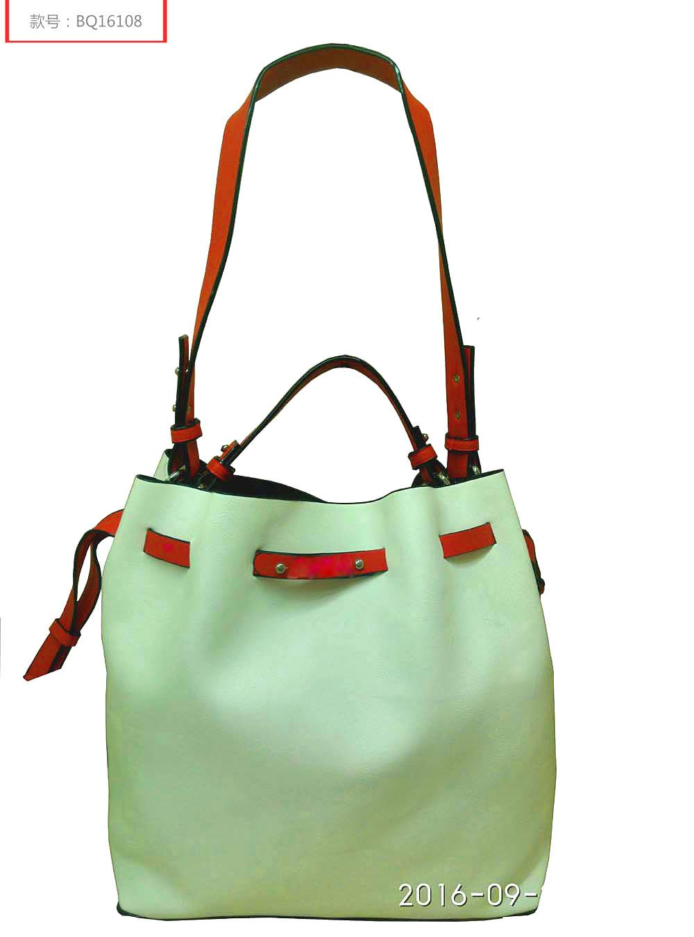handbags-colorblock bucket bag BQ16108