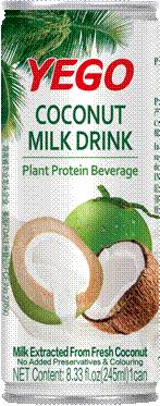 coconut milk juice drink on sale
