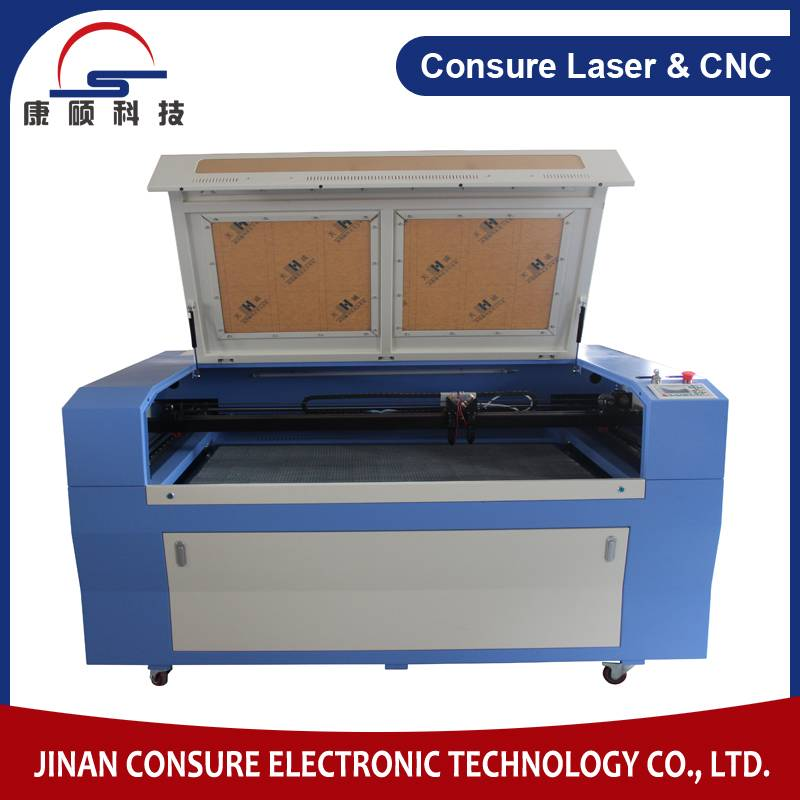 CS1290D Double Heads Laser Cutting Machine for wood/plastic/cloth/leather