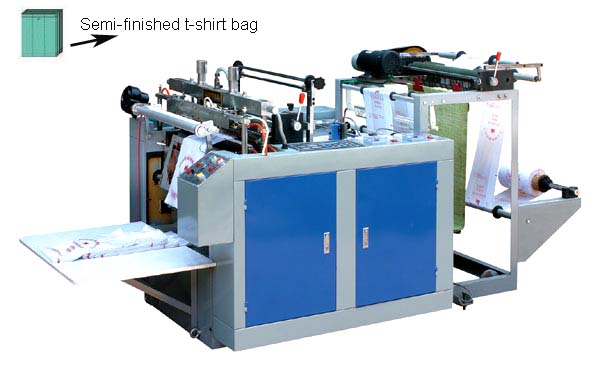 Computer Control One-line Hot Sealing and Hot Cutting Bag Machine