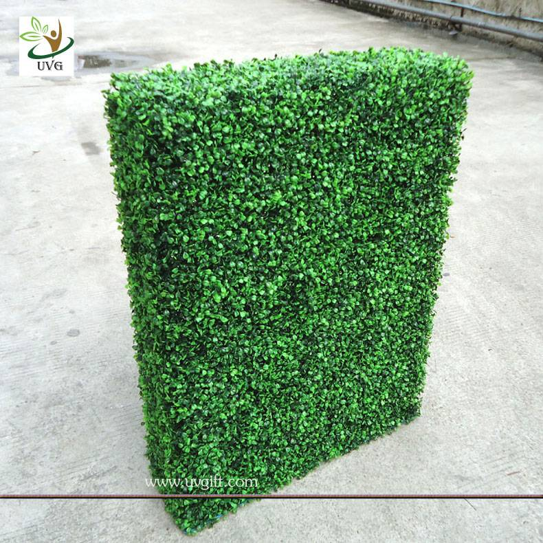 UVG GRS03 indoor decorated plastic artificial boxwood hedge for party landscaping