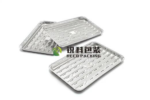 Pollution Free Aluminum Foil BBQ Cooking Tray