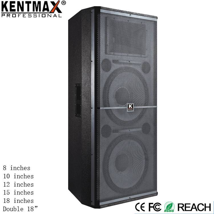 Factory Sale High Double 15 Inches Power 900W JS Audio Speakers