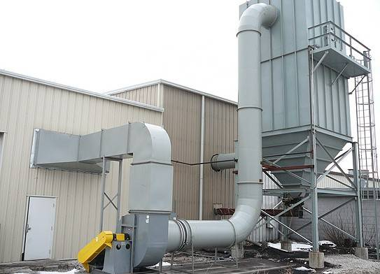 ISO Industrial Pulse Bag House Dust Collector