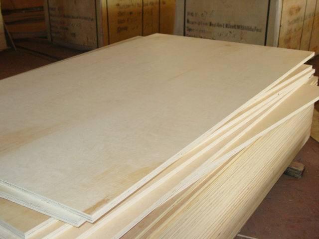 Birch plywood for sale CC/CC grade