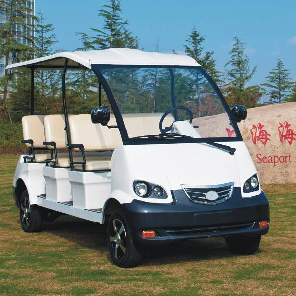 8 person electric resort bus car for tourist