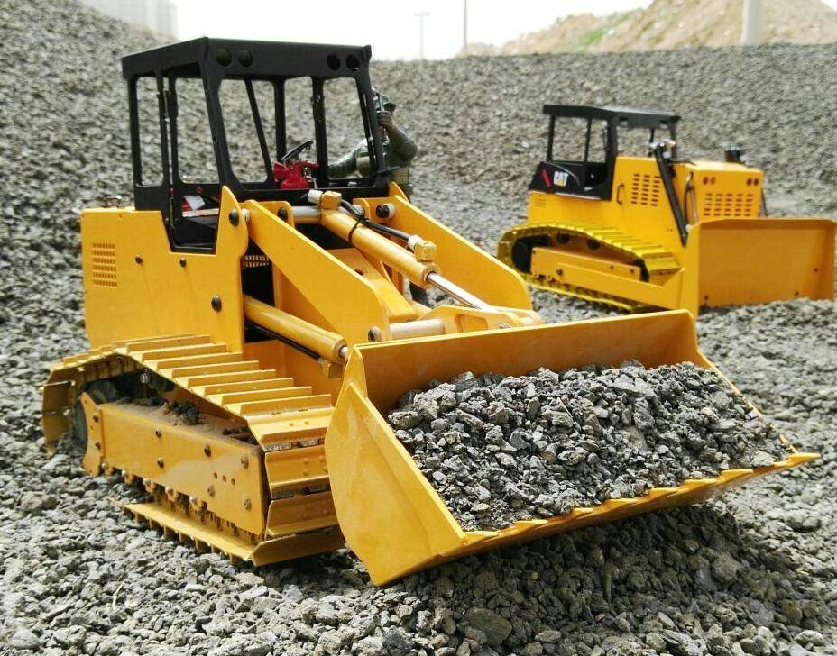 RC model 1:12 Hydraulic loader