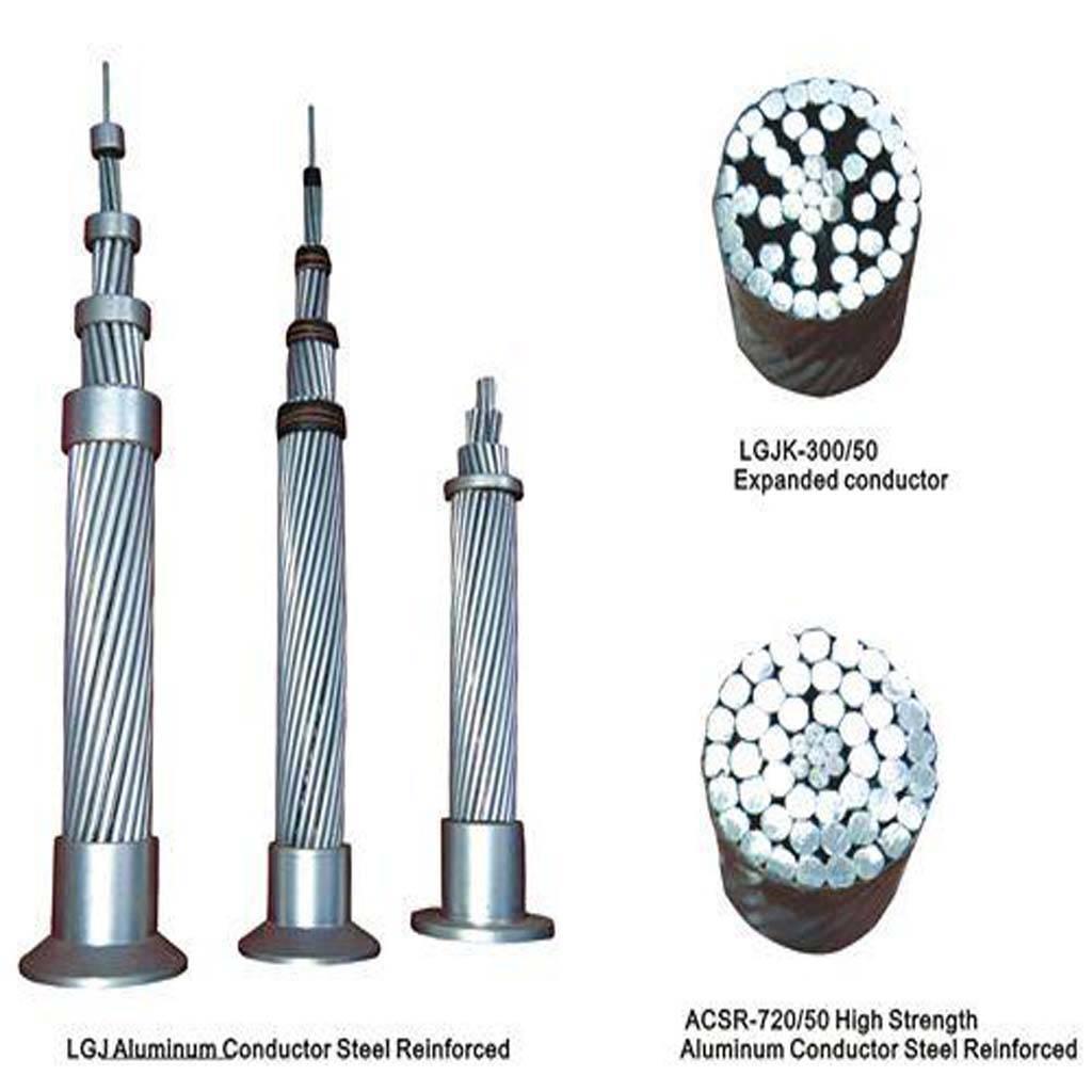 Alumunum  Alloy Strended Conductor Aluminum Clad Steel Reinforced