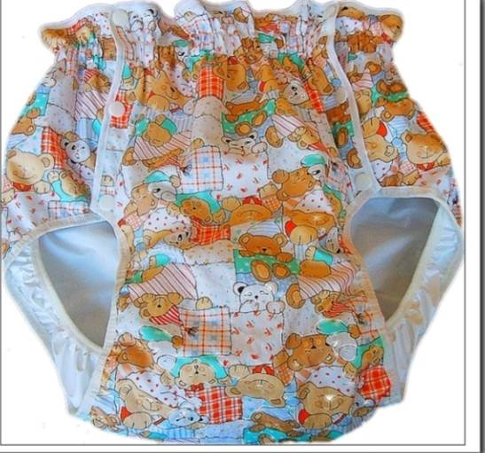 2215-096-JAPAN ADULT Diapers Plastic Pants Cover