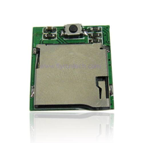 Encrypted MP3 Voice Recorder Module