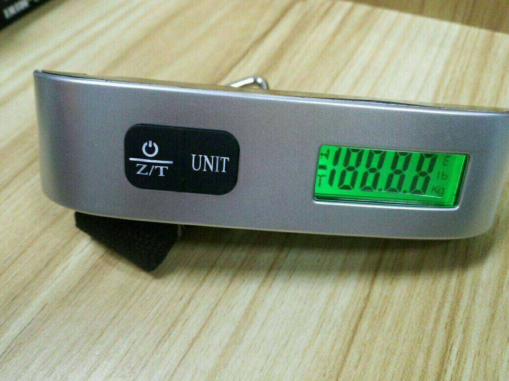 Portable Travel Digital Luggage Scales 50kgs