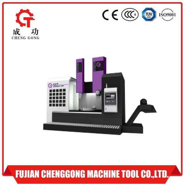 Double ram cnc vertical lathe machine
