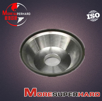 11V9 Resin Bond Diamond Grinding Wheel for Finishing of Back & Side Surface of Hard Alloys
