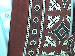 Ajrak (Sindhi Traditional Shawl)