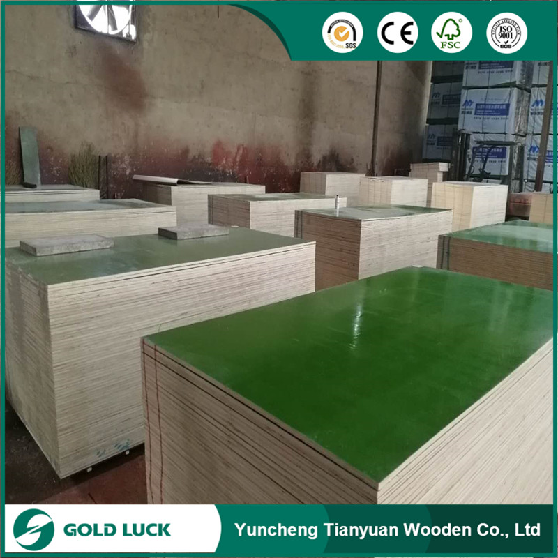 Plastic Coated /PP Plywood with colors