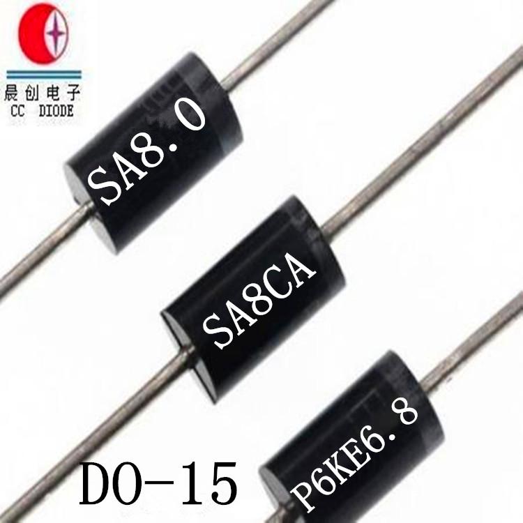 Original Transient Voltage Suppressor Chip SA5.0-180CA 500W TVS Diode DO-15