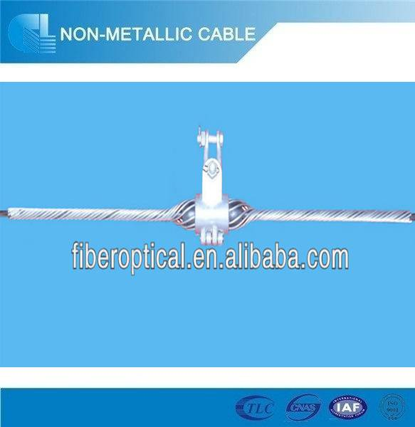 stainless steel or galvamozed steel opgw fiber cable clamp