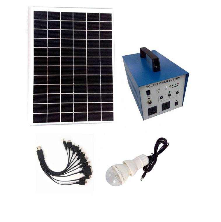 New energy products home use off-grid 50W solar power system