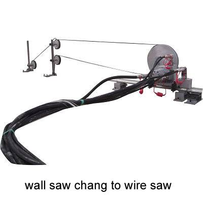 Wall Saw change to Wire Saw