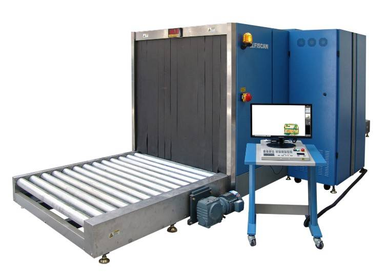 out of gauge baggage or cargo x-ray inspection system