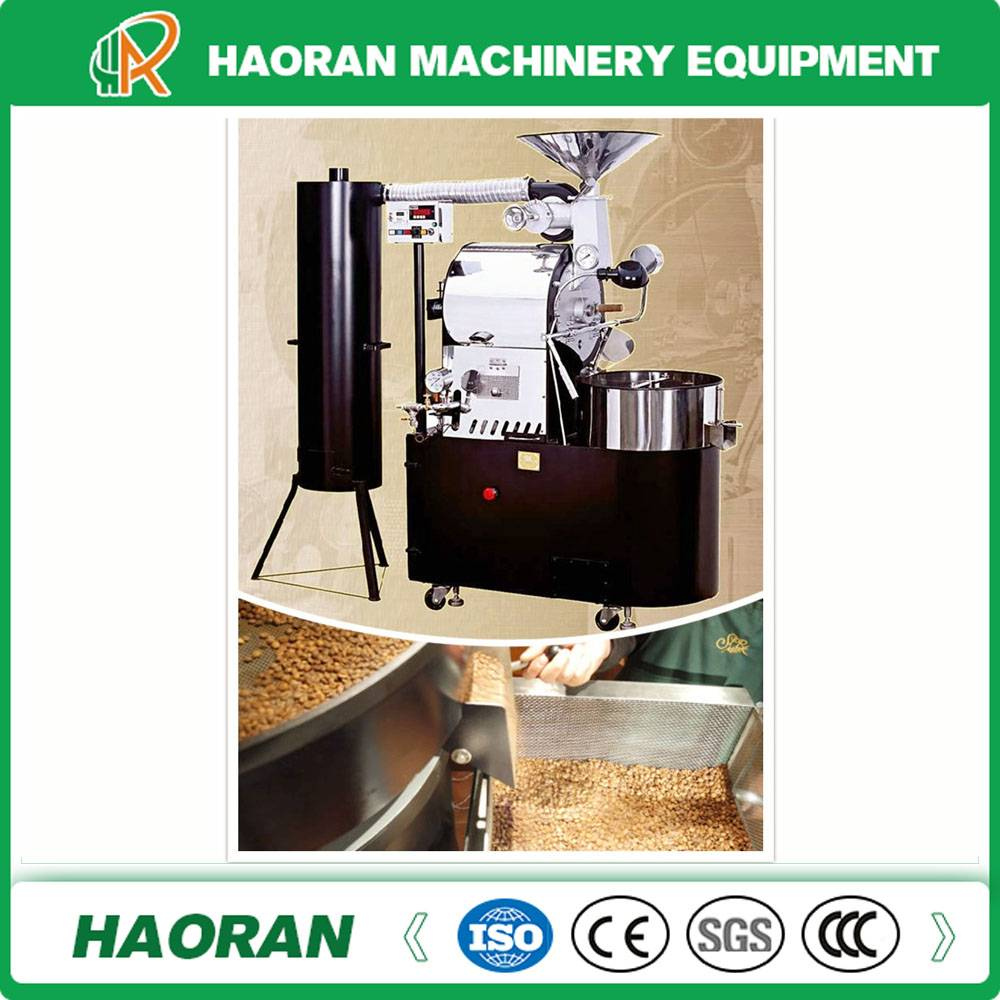 Commercial used 6kg /Batch Coffee Roaster with Gas Heating